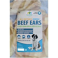 Pet's Choice Naturals Cow Ear Dog Treats, 10 count