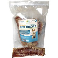 "Pet's Choice Naturals 6"" Beef Trachea Dog Treats, 4 count"