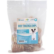 "Pet's Choice Naturals 12"" Beef Trachea Chips Dog Treats, 12 count"