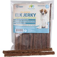 Pet's Choice Naturals Elk Jerky Dog Treats, 12 count