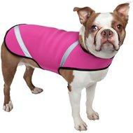 Pet Life Multi-Purpose Protective Shell Dog Coat, Large, Pink