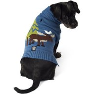 PetRageous Designs Acadia Moose Turtleneck Dog Sweater, Small