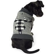 PetRageous Designs Buffalo Check Elk Dog Sweater, Medium