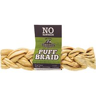 Redbarn Puff Braid Beef Esophagus Large Dog Treat