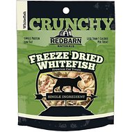 Redbarn Freeze Dried Crunchy Whitefish Cat Treats, 0.75-oz pouch