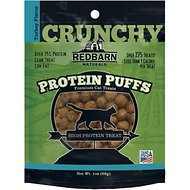 Redbarn Protein Puffs Turkey Flavor Cat Treats, 1-oz pouch