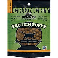 Redbarn Protein Puffs Chicken Flavor Cat Treats, 1-oz pouch