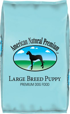 American Natural Premium puppy chow for large dogs