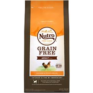 Nutro Grain-Free Chicken & Potato Recipe Adult Dry Cat Food, 6.5-lb bag