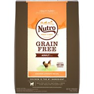 Nutro Grain-Free Chicken & Potato Recipe Adult Dry Cat Food, 14-lb bag