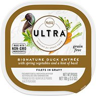 Nutro Ultra Grain-Free Filets in Gravy Signature Duck Entree Adult Wet Dog Food Trays