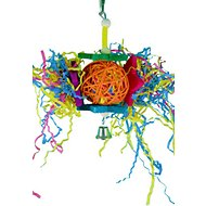 Bonka Bird Toys Foraging Star Bird Toy, Color Varies, Small/ Medium