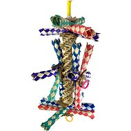 Bonka Bird Toys Helix Bird Toy, Color Varies, Small/ Medium
