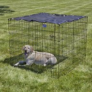 MidWest Exercise Pen Sunscreen Top (Crate Sold Separately)