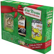 Greenies Temptations Sheba Holiday Collection Variety Pack Cat Treats, 12-oz package