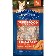 Barkworthies Turkey Jerky Recipe with Pumpkin, Sweet Potato & Carrot Blend Dog Treats, 1-oz bag