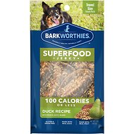 Barkworthies Duck Jerky Recipe with Pear & Lentils Blend Dog Treats, 1-oz bag