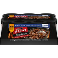 ALPO Chop House T-Bone Steak Canned Dog Food, 13-oz, case of 12