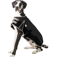 Derby Originals 600D Waterproof Dog Blanket Coat, 28.5-in, Black/Grey