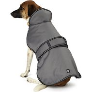 PetRageous Designs Juneau Dog Coat, Large, Gray