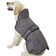 PetRageous Designs Juneau Dog Coat, X-Large, Gray