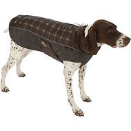 Ultra Paws Fleece Comfort Dog Coat, 3X-Large, Brown Plaid