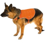 Ultra Paws Ultra-Reflective Safety Dog Vest, Small, Orange