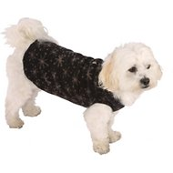 Ultra Paws Single Layer Doga Tog Dog Coat, X-Petite, Starry Black