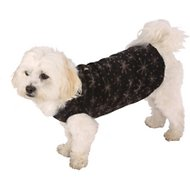 Ultra Paws Single Layer Doga Tog Dog Coat, XX-Small, Starry Black
