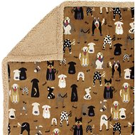 Ultra Paws MyBlankie! Likkers Dog Blanket, Large, Brown