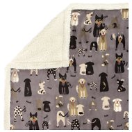 Ultra Paws MyBlankie! Likkers Dog Blanket, Large, Grey