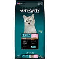Authority Indoor Salmon & Rice Formula Adult Dry Cat Food, 18-lb bag