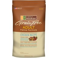 Simply Nourish Grain-Free Chicken Recipe Adult Dry Cat Food, 6-lb bag