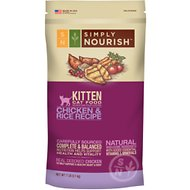 Simply Nourish Chicken & Rice Recipe Kitten Dry Cat Food, 7-lb bag