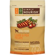 Simply Nourish Limited Ingredient Diet Lamb & Pea Recipe Dry Dog Food, 24-lb bag