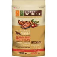 Simply Nourish Limited Ingredient Diet Salmon & Sweet Potato Recipe Large Breed Adult Dry Dog Food, 24-lb bag