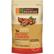 Simply Nourish Limited Ingredient Diet Sweet Potato & Salmon Recipe Puppy Dry Dog Food, 5-lb bag
