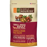 Simply Nourish Chicken & Brown Rice Recipe Small Breed Adult Dry Dog Food, 6-lb bag