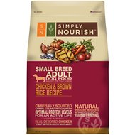 Simply Nourish Chicken & Brown Rice Recipe Small Breed Adult Dry Dog Food, 15-lb bag