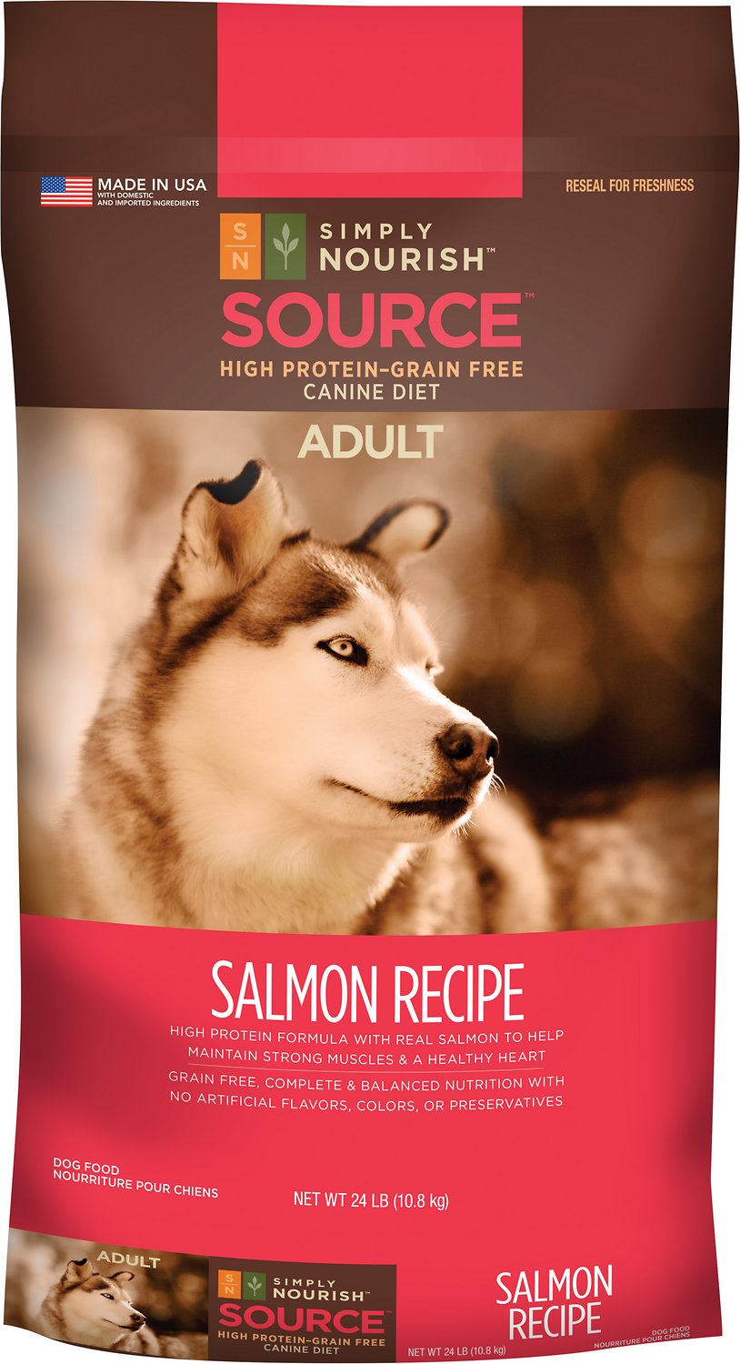 Simply Nourish Source Salmon Recipe High Protein Grain Free Adult