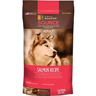 Simply Nourish Source Salmon Recipe High-Protein Grain-Free Adult Dry Dog Food, 24-lb bag