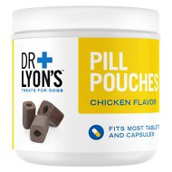 Dr. Lyon's Pill Pouches Chicken Flavor Dog Treats, 30 count