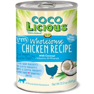 Party Animal Cocolicious I'm Wholesome Chicken Recipe Grain-Free Canned Dog Food, 13-oz, case of 12