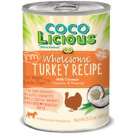 Party Animal Cocolicious I'm Wholesome Turkey Recipe Grain-Free Canned Dog Food, 13-oz, case of 12