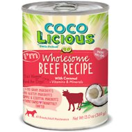 Party Animal Cocolicious I'm Wholesome Beef Recipe Grain-Free Canned Dog Food, 13-oz, case of 12