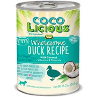 Party Animal Cocolicious I'm Wholesome Duck Recipe Grain-Free Canned Dog Food, 13-oz, case of 12