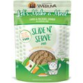 Weruva Slide N' Serve Let's Make a Meal Lamb & Mackerel Dinner Pate Grain-Free Cat Food Pouches