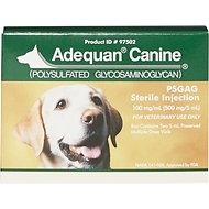 Adequan Canine Injectable for Dogs, 100 mg/mL, 5-mL, pack of 2