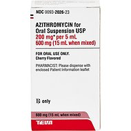 Azithromycin (Generic) Flavored for Oral Suspension