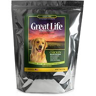 Great Life Chicken Grain-Free Dry Dog Food, 7-lb bag